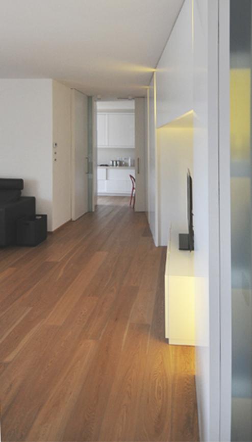 soggiorno interni casa studio architettura cesena