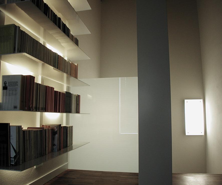 arredo libreria interni casa studio architettura cesena