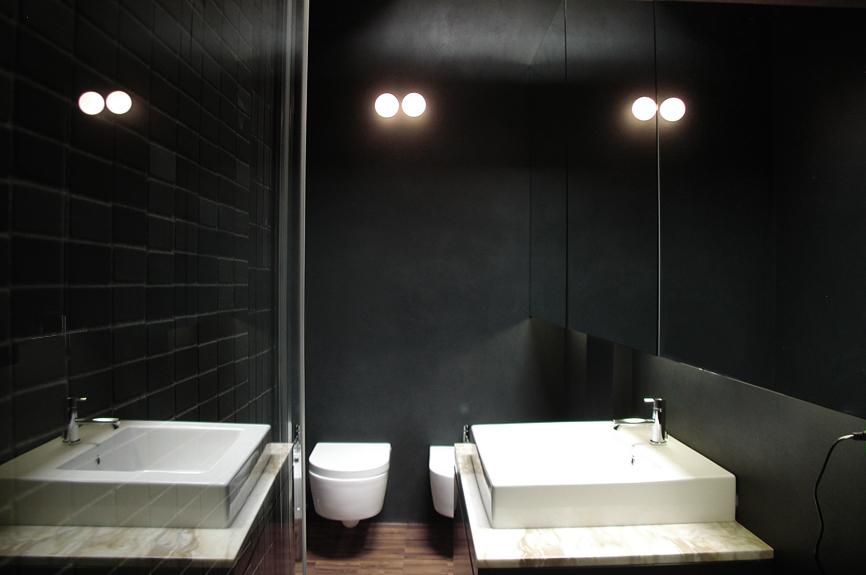 bagno interni casa studio architettura cesena