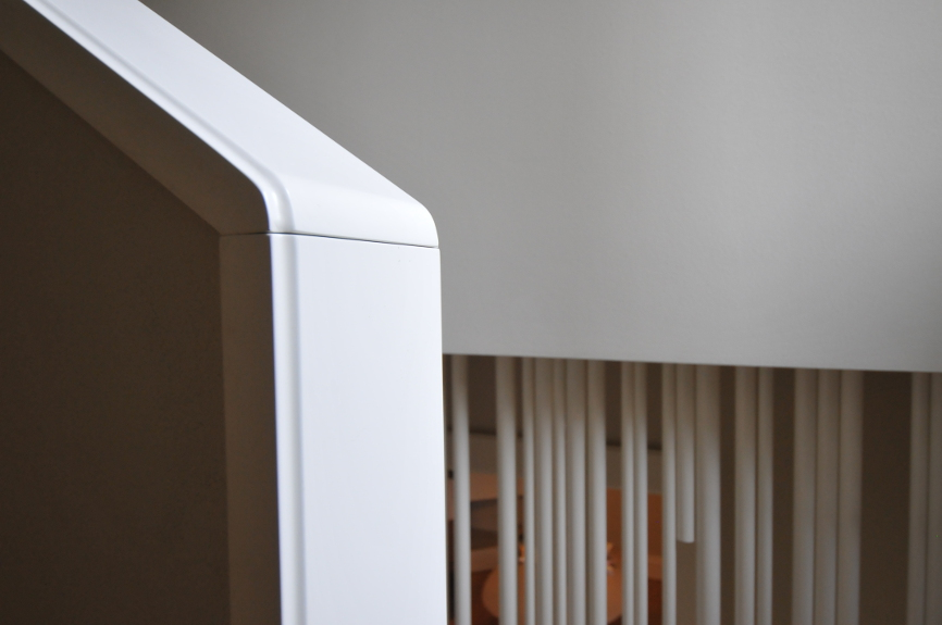 scala interni casa studio architettura cesena