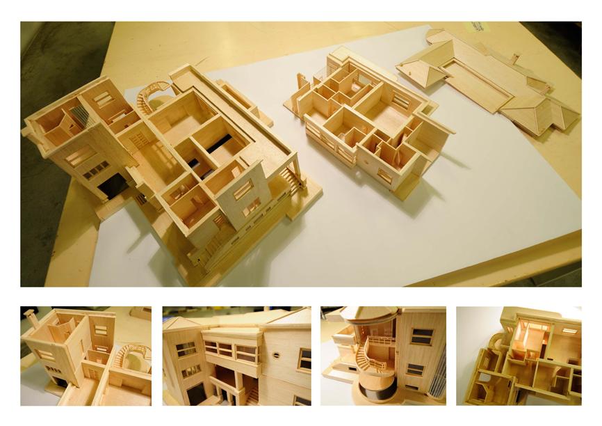 architettura lavori model plastico casa studio di architettura cesena