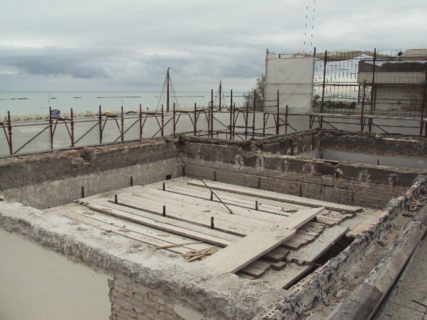 architettura lavori cantiere copertura casa studio di architettura cesena