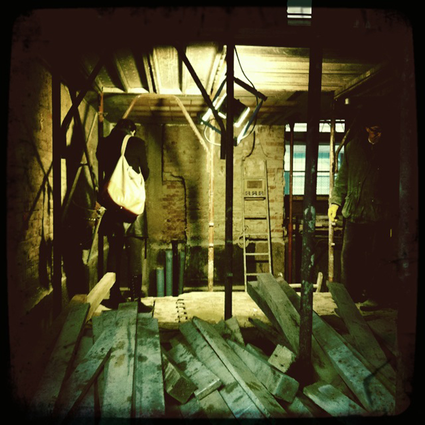 architettura lavori cantiere scalone casa studio di architettura cesena