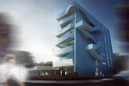 design edificio residenziale cervia studio di architettura in Cesena