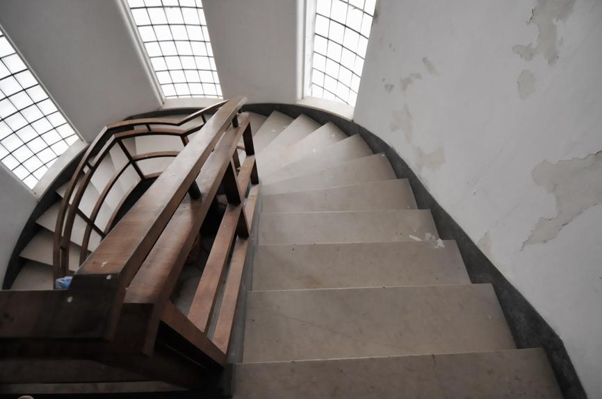 architettura lavori interno scala casa studio di architettura cesena