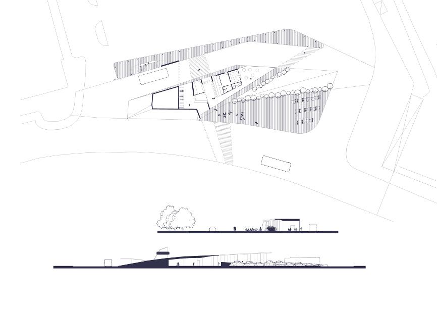 pianta idee concorso via emilia studio architettura cesena