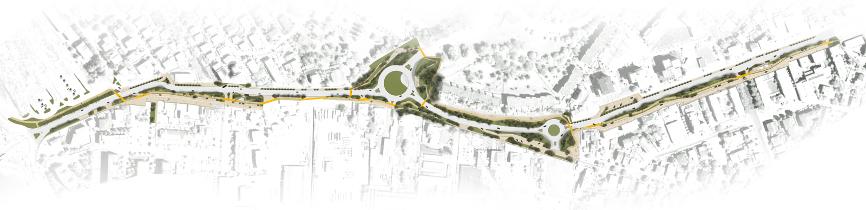planimetria idee concorso via emilia studio architettura cesena