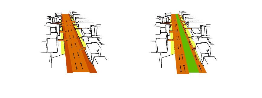 schema prima dopo idee concorso via emilia studio architettura cesena