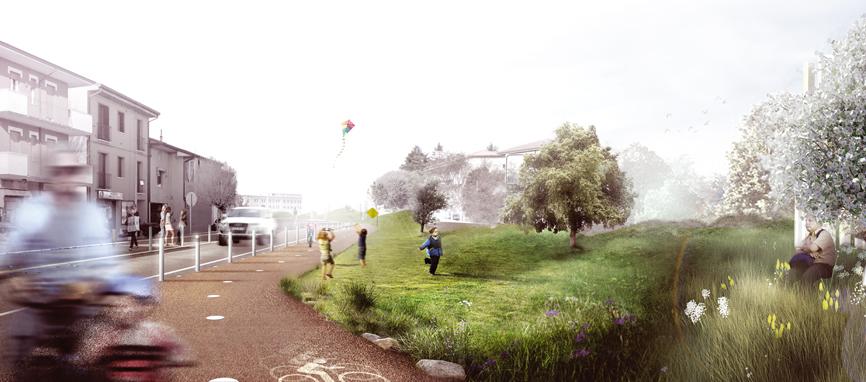 render idee concorso via emilia studio architettura cesena