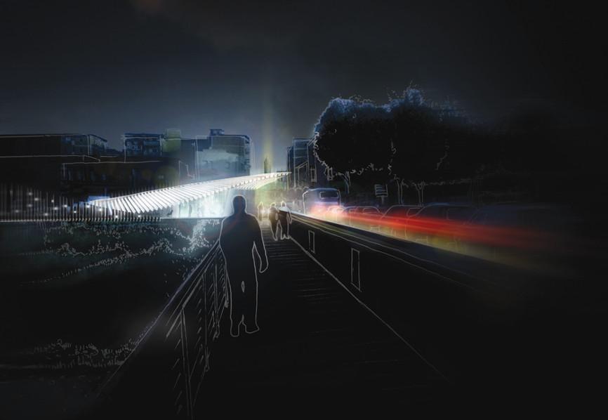 render notte idee concorso via emilia studio architettura cesena