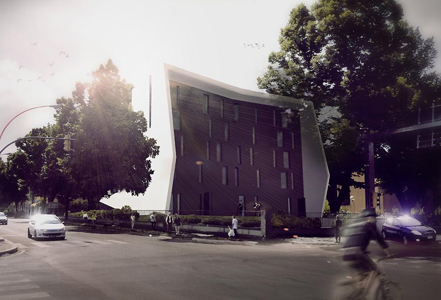 render car edificio idee studio architettura cesena
