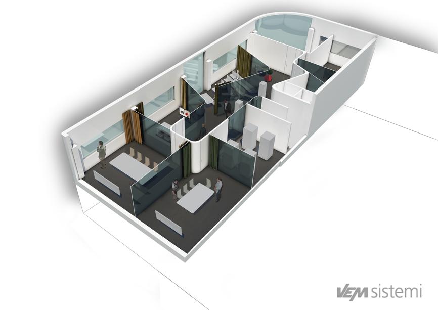 assonometria vem idee concorso studio architettura cesena