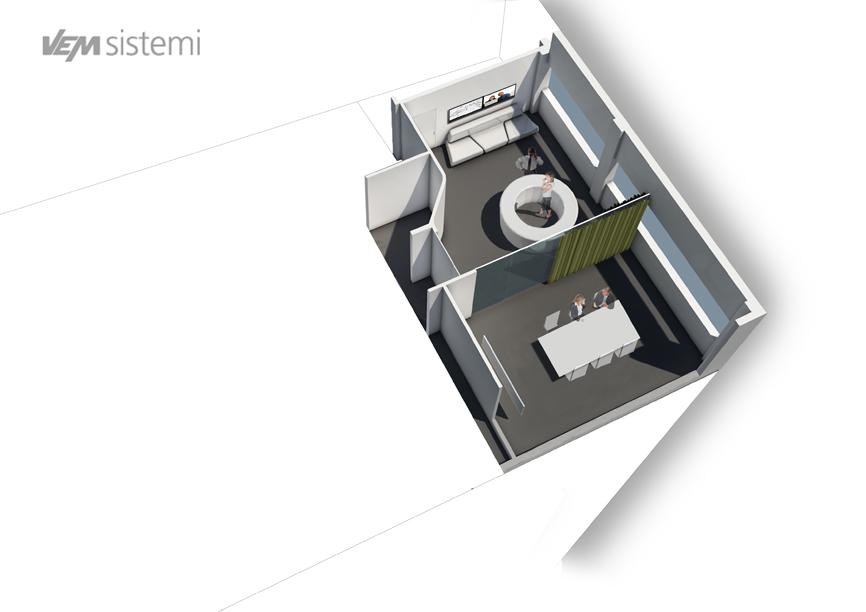 vem axonometric idee concorso studio architettura cesena