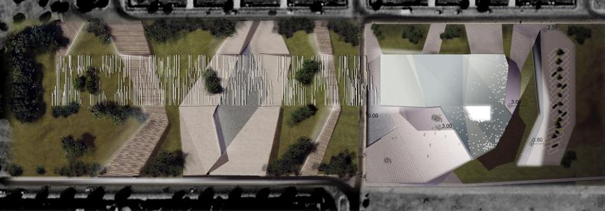planimetria idee concorso roma studio architettura cesena