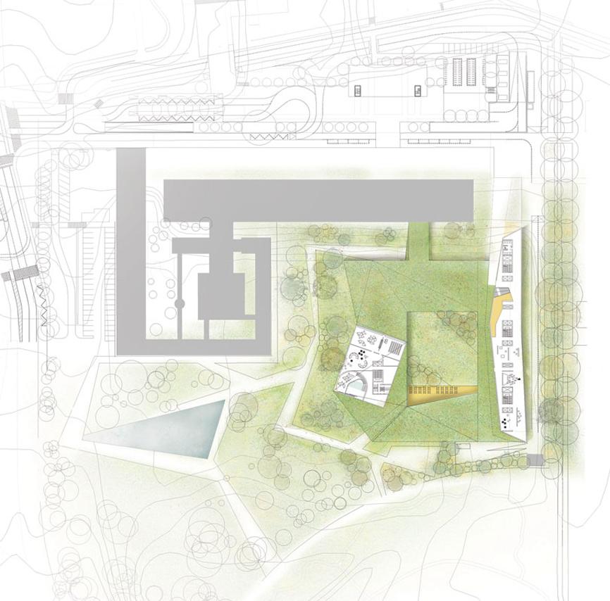 planimetria idee concorso who studio architettura cesena