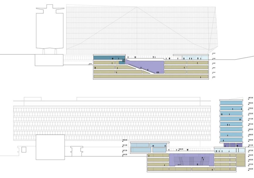 sezioni idee concorso who studio architettura cesena